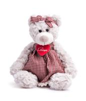 Sára teddy bear girl in a dress, small