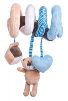 Baby spiral toy - Lumpin teddy bear