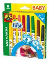 Dětské fixy, 8 barev
