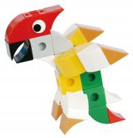 Stavebnice World Life - Papoušek
