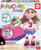 Michelle skaterka- sestav si svou panenku